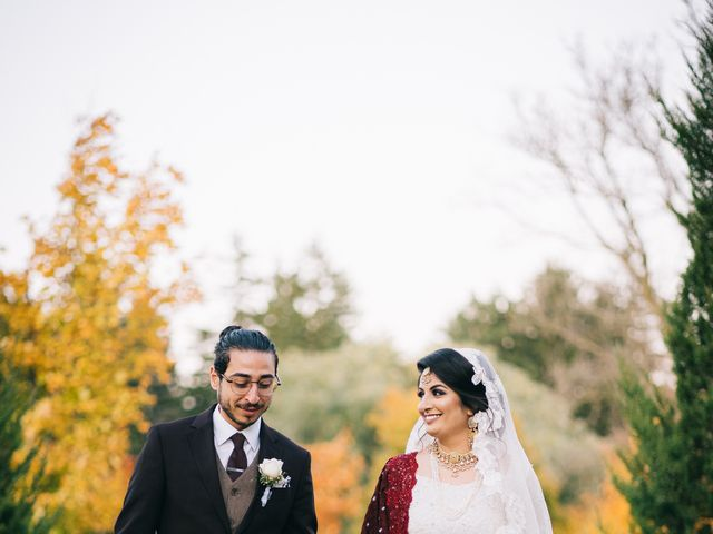 Ayman and Laveza's wedding in Caledon, Ontario 14