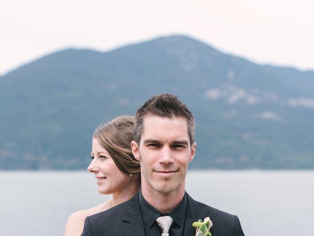 Craig and Tessa's wedding in Squamish, British Columbia 5