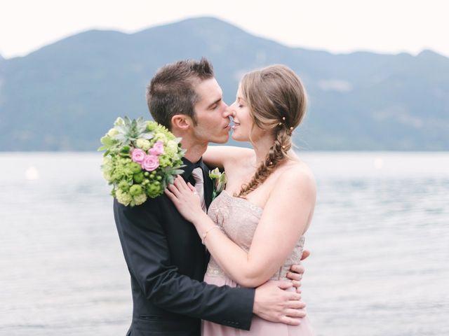 Craig and Tessa's wedding in Squamish, British Columbia 6