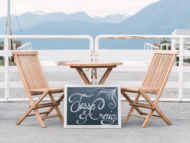 Craig and Tessa's wedding in Squamish, British Columbia 7