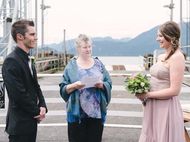 Craig and Tessa's wedding in Squamish, British Columbia 9