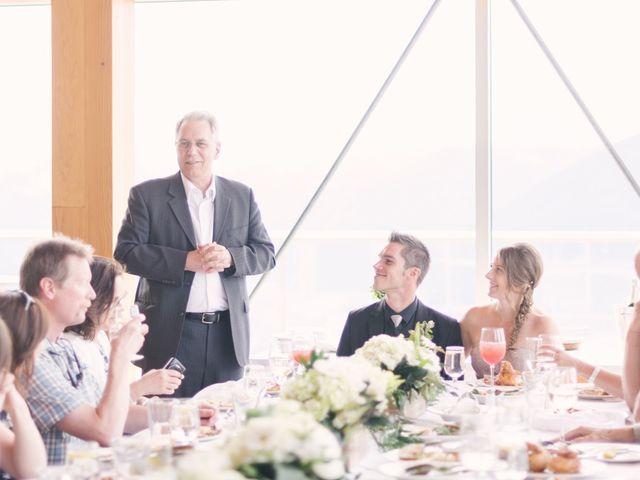 Craig and Tessa's wedding in Squamish, British Columbia 14