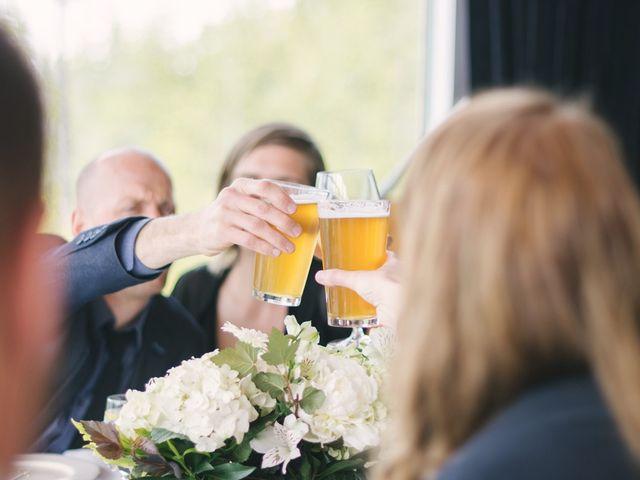 Craig and Tessa's wedding in Squamish, British Columbia 15