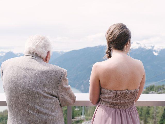 Craig and Tessa's wedding in Squamish, British Columbia 16