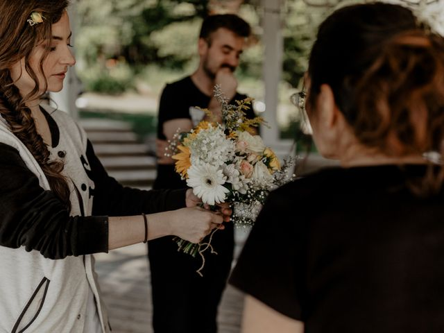 James and Vero's wedding in Harrington, Quebec 6