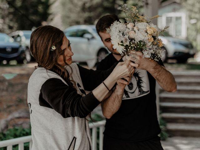 James and Vero's wedding in Harrington, Quebec 7