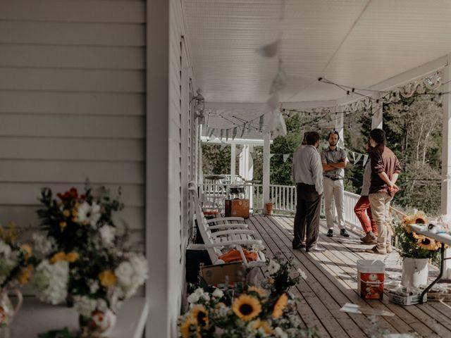 James and Vero's wedding in Harrington, Quebec 12