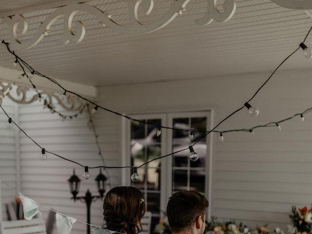 James and Vero's wedding in Harrington, Quebec 15