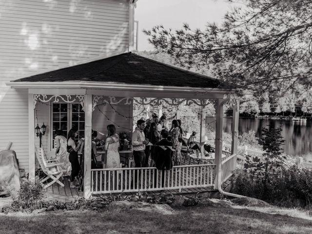 James and Vero's wedding in Harrington, Quebec 78