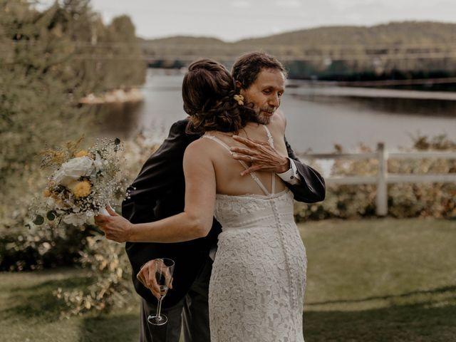 James and Vero's wedding in Harrington, Quebec 89