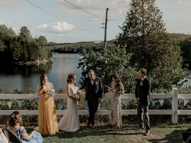 James and Vero's wedding in Harrington, Quebec 103