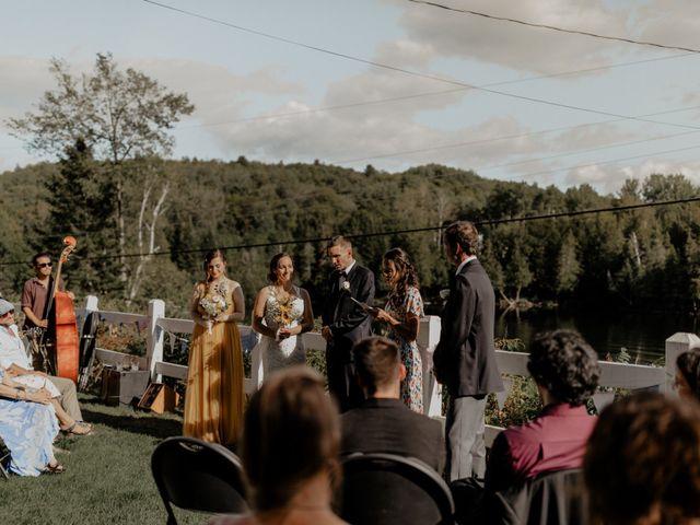 James and Vero's wedding in Harrington, Quebec 107