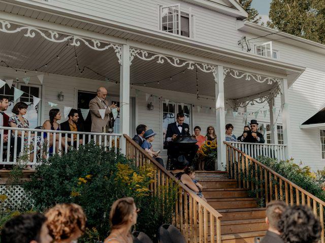 James and Vero's wedding in Harrington, Quebec 109