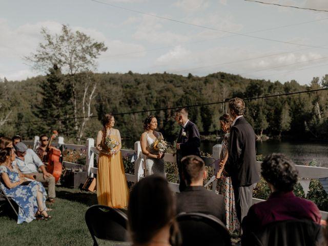 James and Vero's wedding in Harrington, Quebec 121