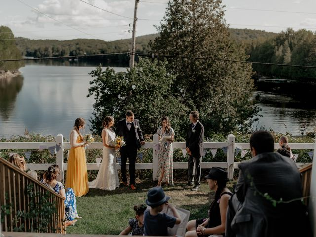 James and Vero's wedding in Harrington, Quebec 128