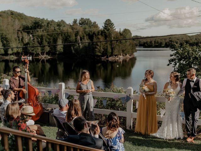 James and Vero's wedding in Harrington, Quebec 140