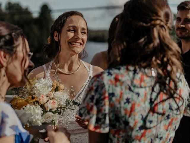 James and Vero's wedding in Harrington, Quebec 142