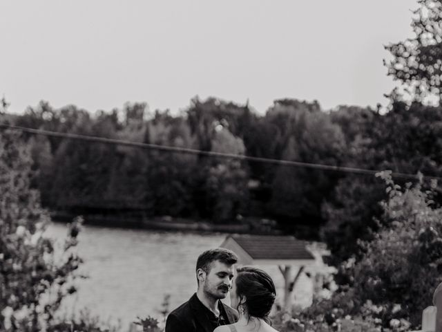 James and Vero's wedding in Harrington, Quebec 160
