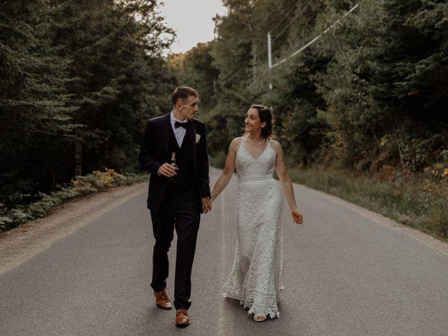 James and Vero's wedding in Harrington, Quebec 1