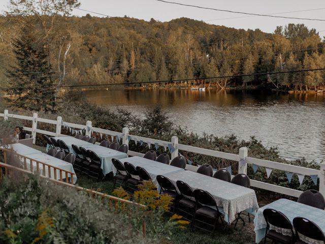 James and Vero's wedding in Harrington, Quebec 201