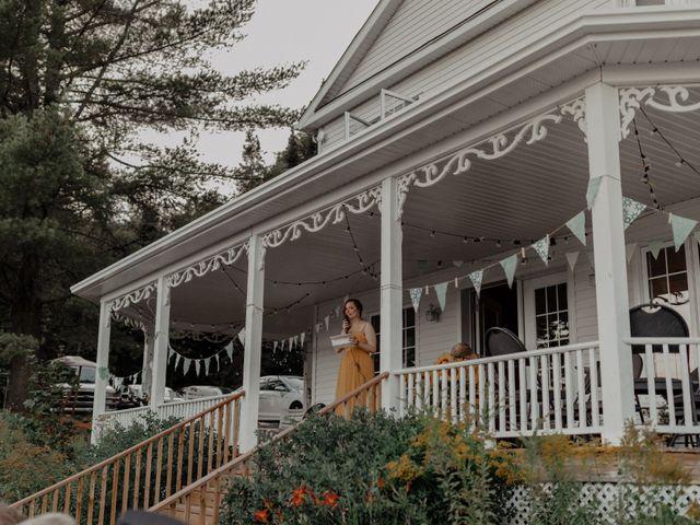 James and Vero's wedding in Harrington, Quebec 226