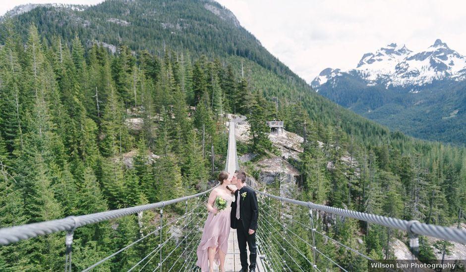 Craig and Tessa's wedding in Squamish, British Columbia