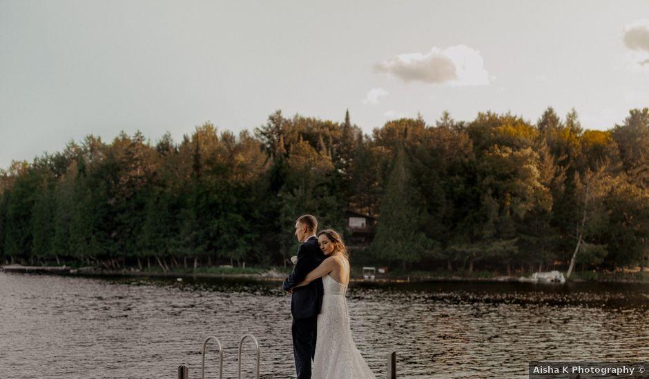 James and Vero's wedding in Harrington, Quebec
