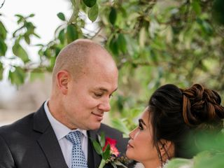 The wedding of Mariel and Chris