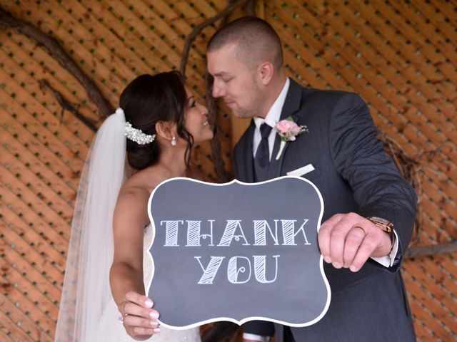 Rich and Carla's wedding in Newmarket, Ontario 1