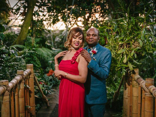 The wedding of Ravi and Leena