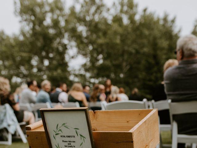 Scott and Tyneille's wedding in Sylvan Lake, Alberta 15