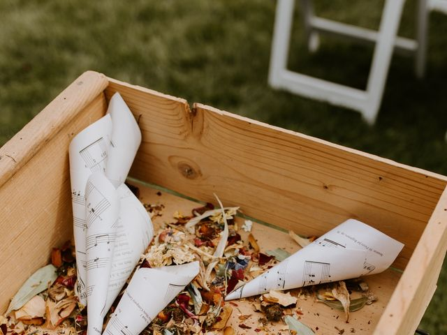 Scott and Tyneille's wedding in Sylvan Lake, Alberta 16