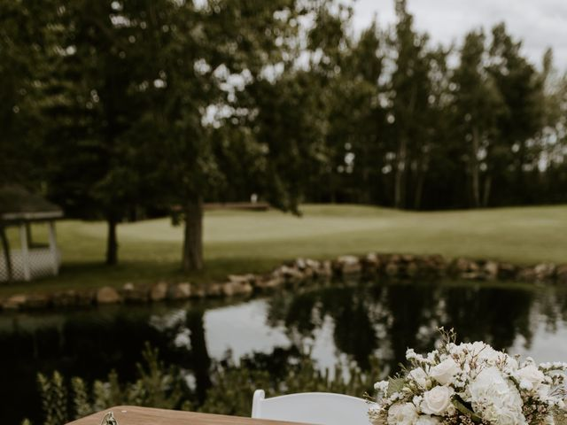 Scott and Tyneille's wedding in Sylvan Lake, Alberta 18