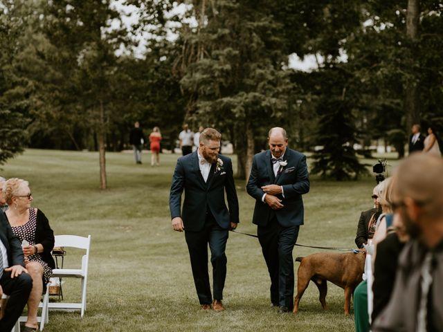 Scott and Tyneille's wedding in Sylvan Lake, Alberta 21