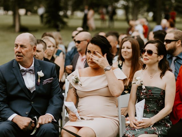 Scott and Tyneille's wedding in Sylvan Lake, Alberta 22