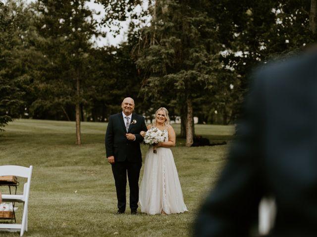 Scott and Tyneille's wedding in Sylvan Lake, Alberta 24