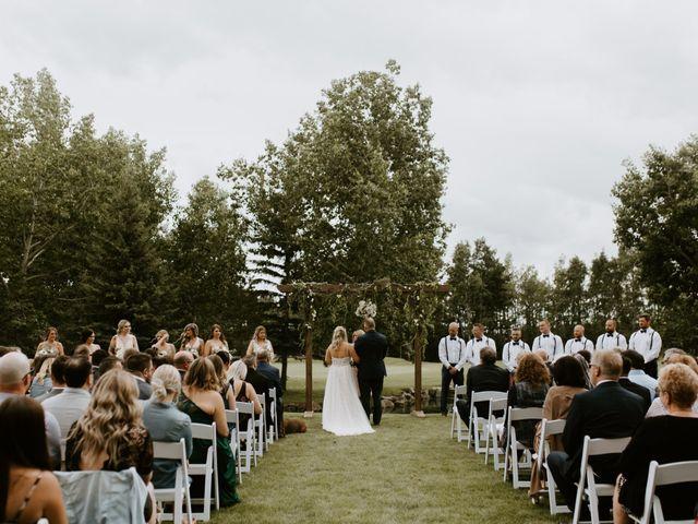 Scott and Tyneille's wedding in Sylvan Lake, Alberta 25