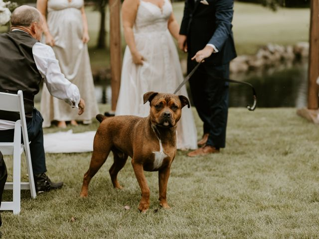 Scott and Tyneille's wedding in Sylvan Lake, Alberta 29