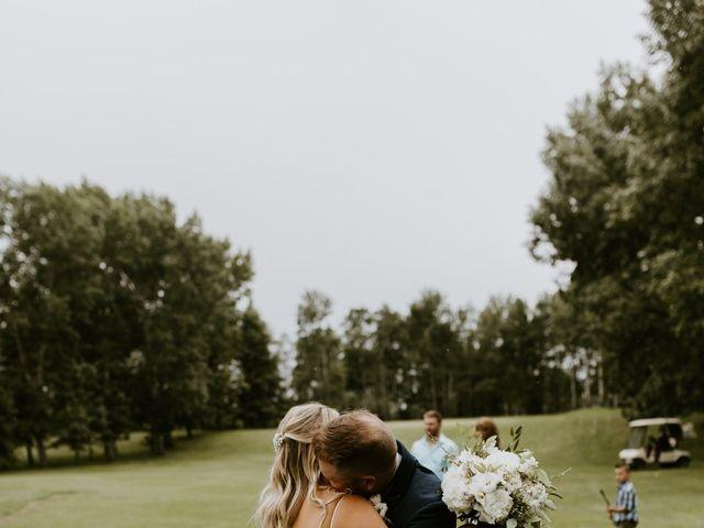 Scott and Tyneille's wedding in Sylvan Lake, Alberta 30