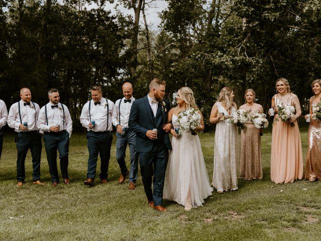 Scott and Tyneille's wedding in Sylvan Lake, Alberta 31