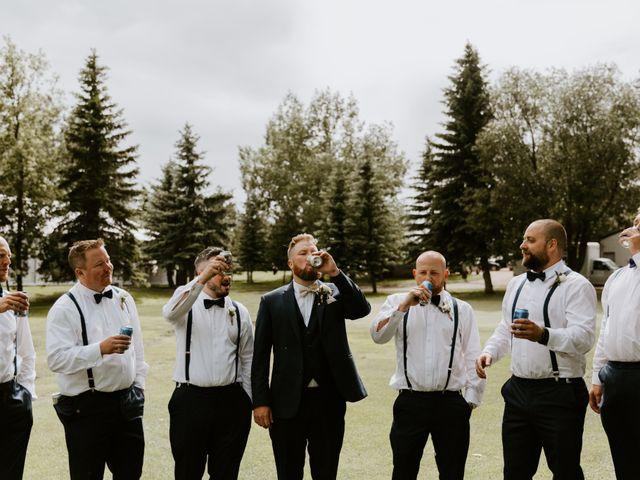 Scott and Tyneille's wedding in Sylvan Lake, Alberta 32