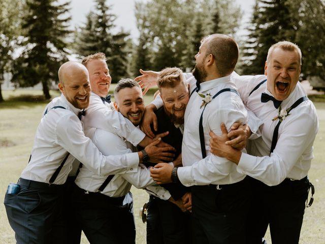 Scott and Tyneille's wedding in Sylvan Lake, Alberta 33