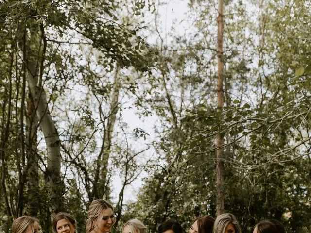 Scott and Tyneille's wedding in Sylvan Lake, Alberta 34