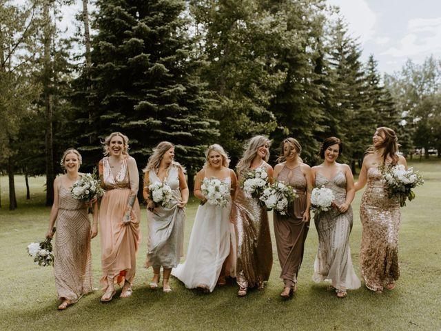 Scott and Tyneille's wedding in Sylvan Lake, Alberta 36