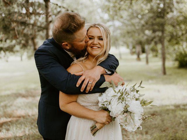 Scott and Tyneille's wedding in Sylvan Lake, Alberta 40