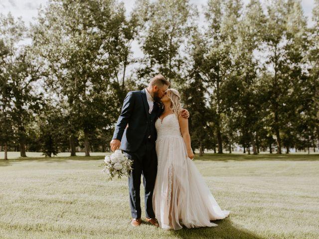 Scott and Tyneille's wedding in Sylvan Lake, Alberta 42