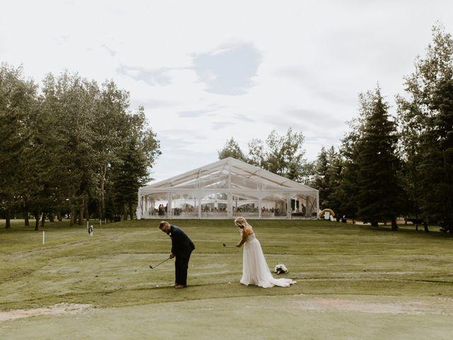 Scott and Tyneille's wedding in Sylvan Lake, Alberta 48