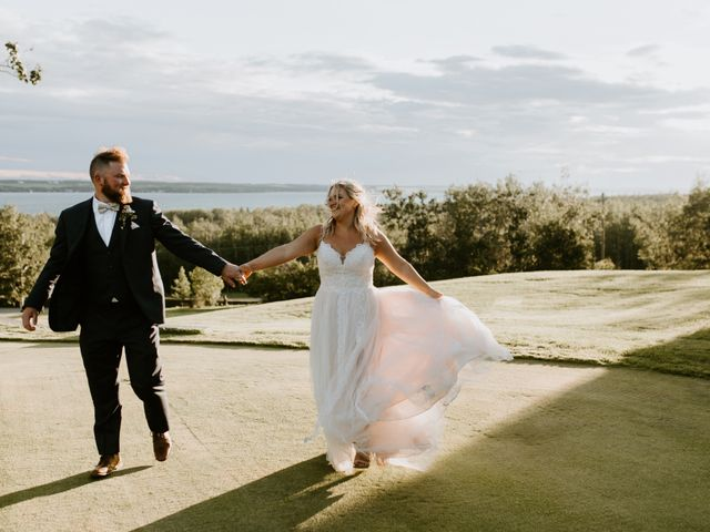 Scott and Tyneille's wedding in Sylvan Lake, Alberta 51