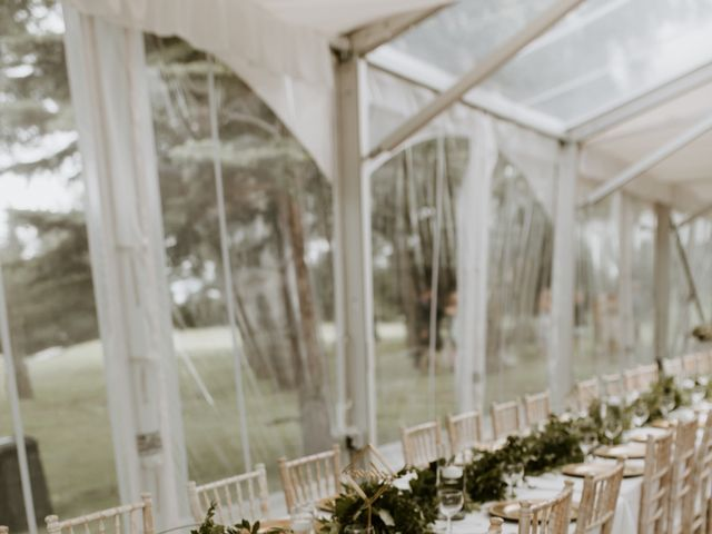Scott and Tyneille's wedding in Sylvan Lake, Alberta 2