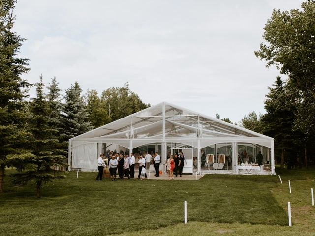 Scott and Tyneille's wedding in Sylvan Lake, Alberta 61